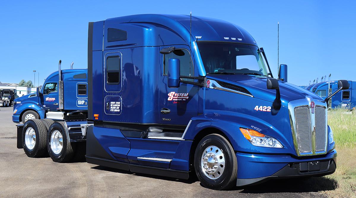 System Transport truck