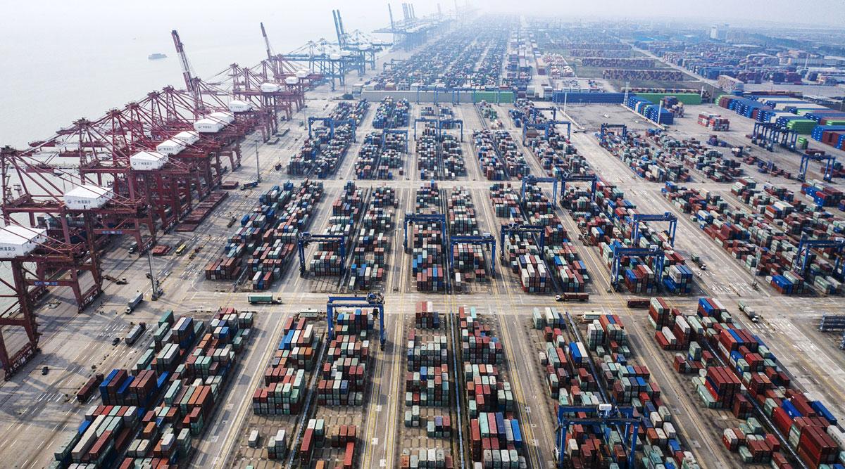 Nansha Port, China