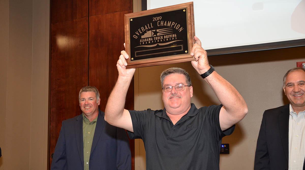 Alabama TDC Grand Champion David Hawk