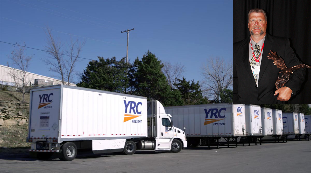 Kevin Mailand of YRC Freight