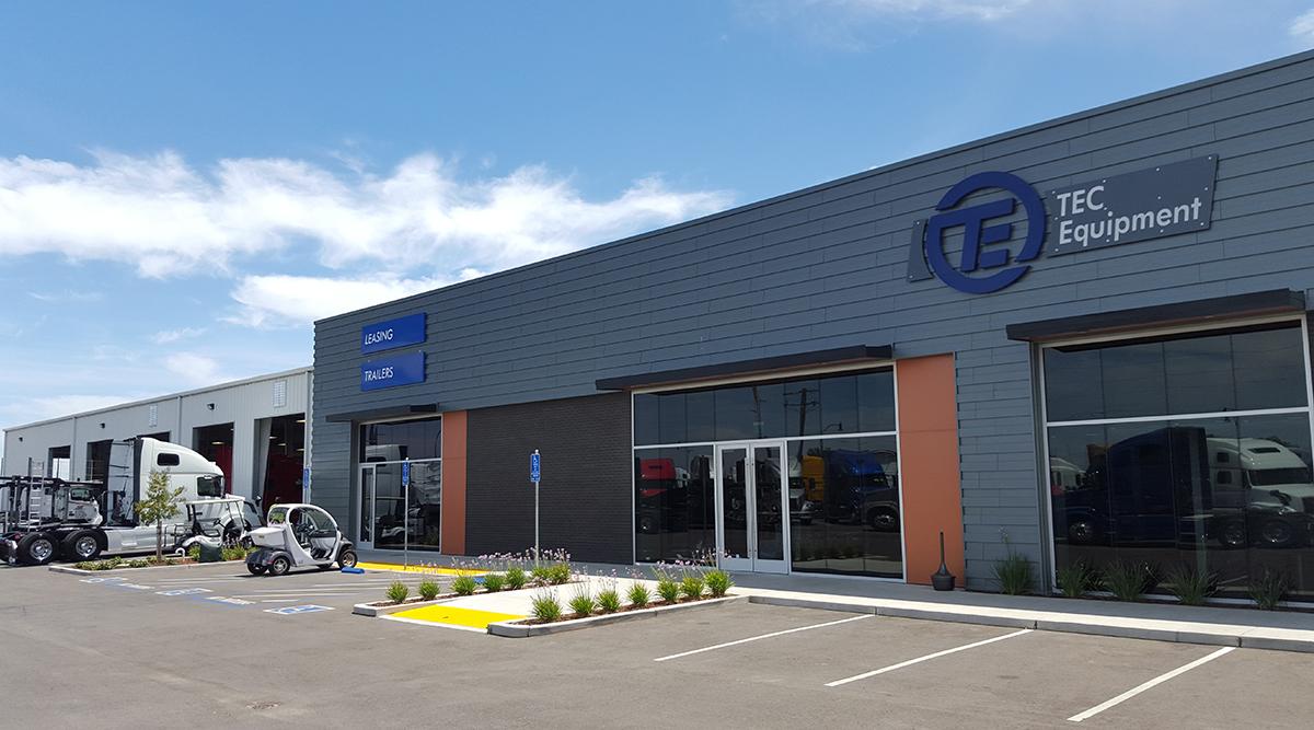 TEC Equipment store in Stockton, Calif.