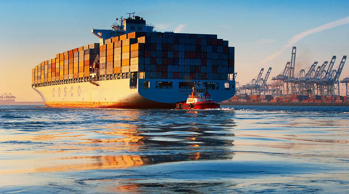 Cosco Ship