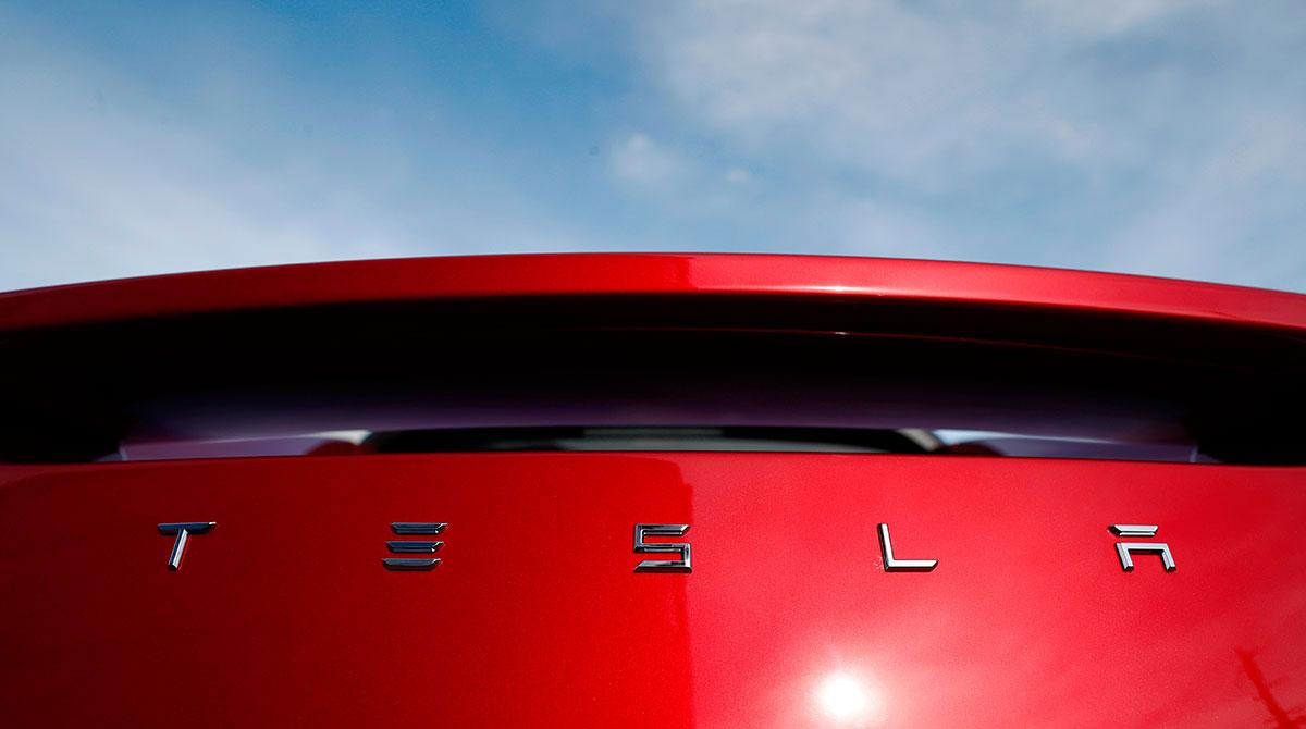 Tesla closeup
