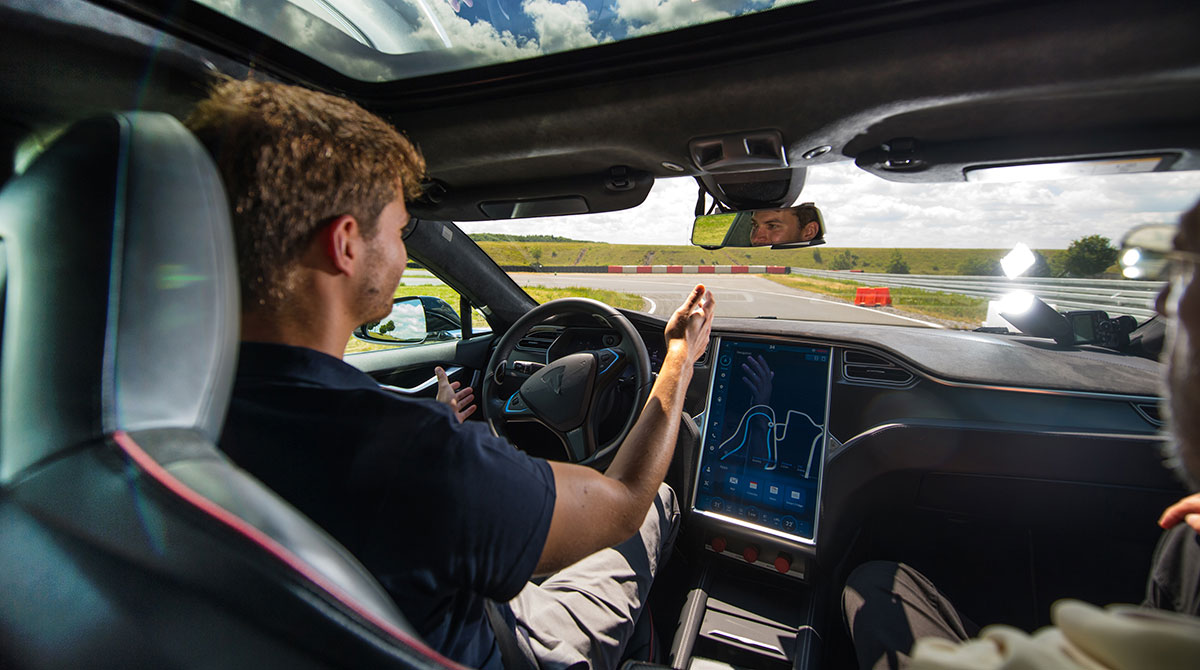 Tesla Self-Driving