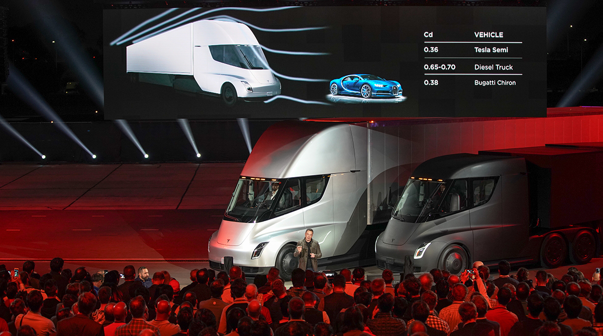 The Tesla Semi unveiling