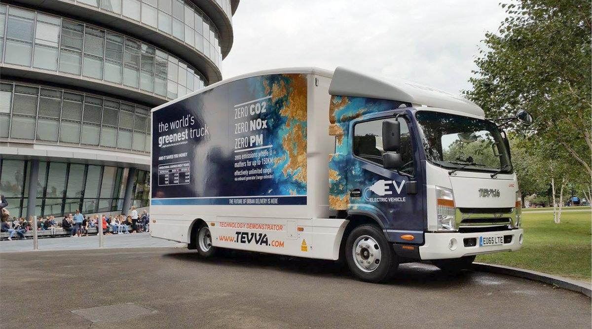 53843abb39 Israeli Entrepreneur Races Tesla to Get Electric Trucks on Road ...