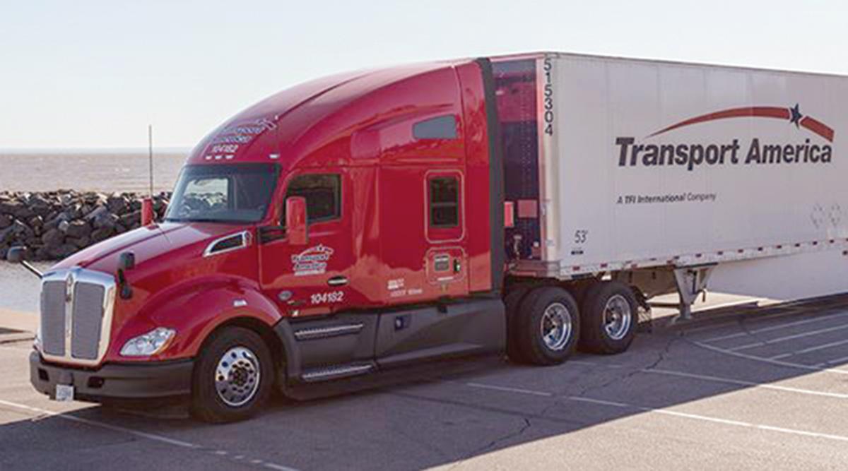 Transport America truck