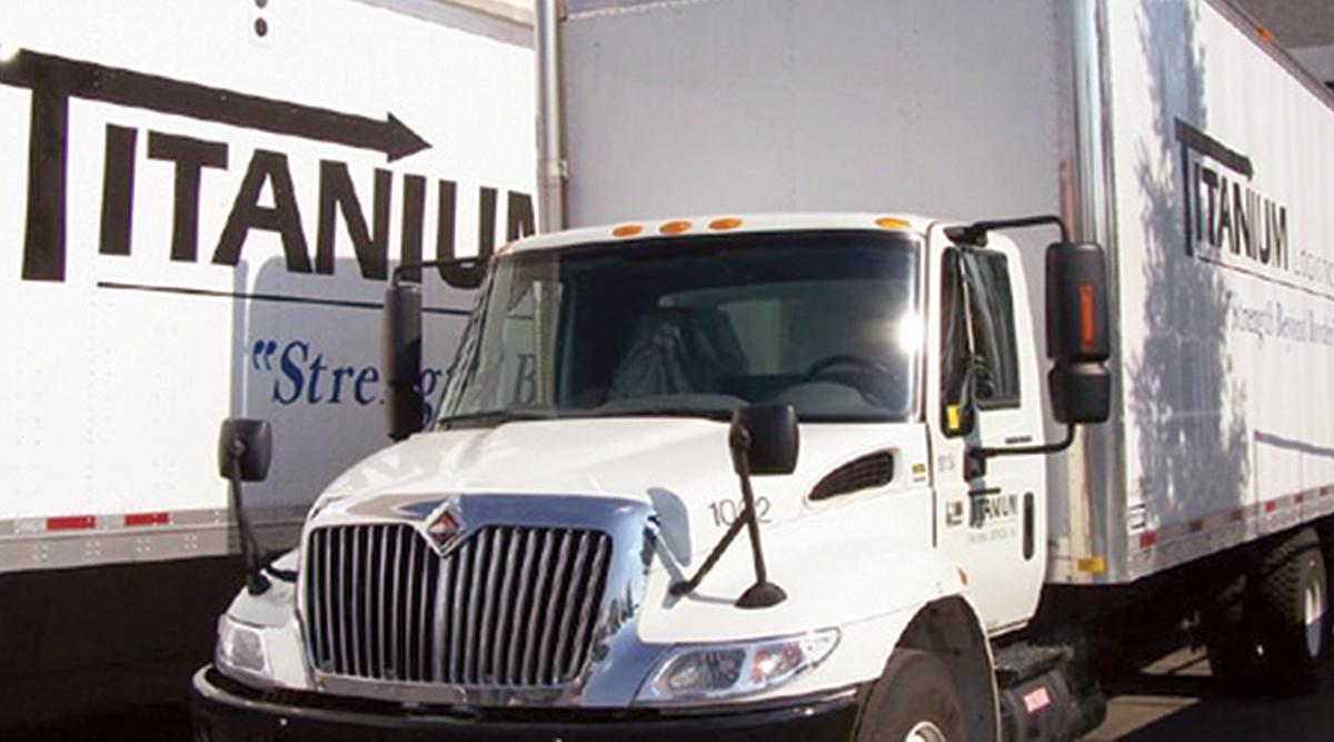 Titanium Transportation Group trucks