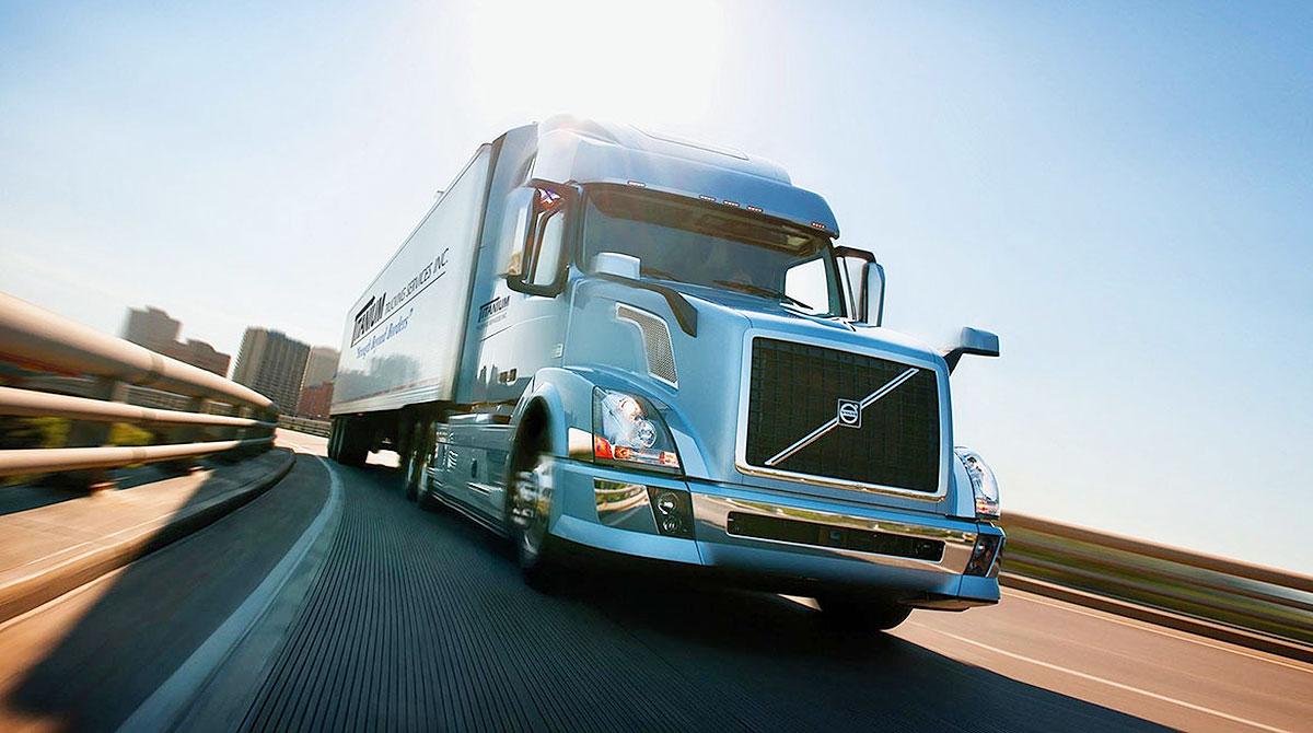 Titanium Transportation truck