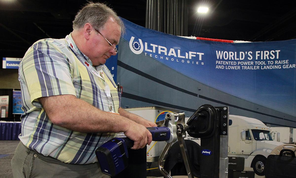 UltraLift engineer Darrell Brubaker at TMC