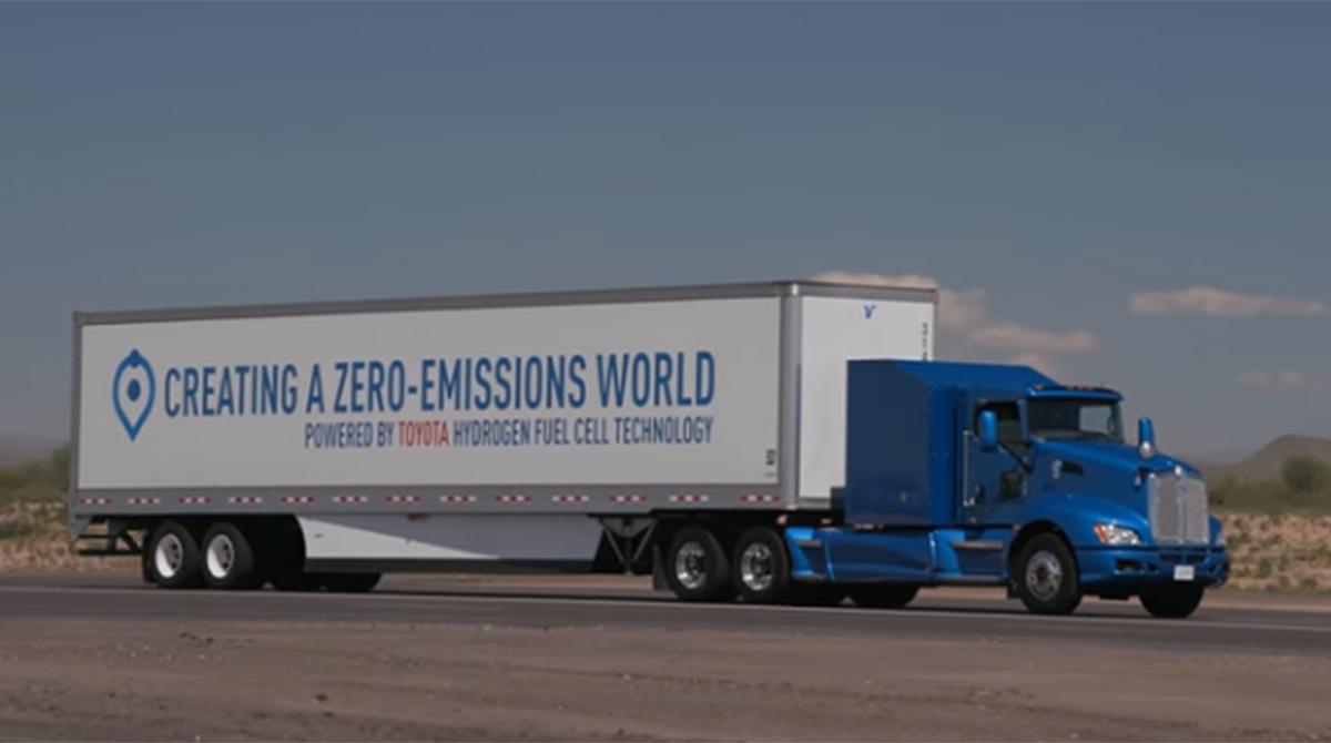 Toyota Class 8 hydrogen fuel cell truck