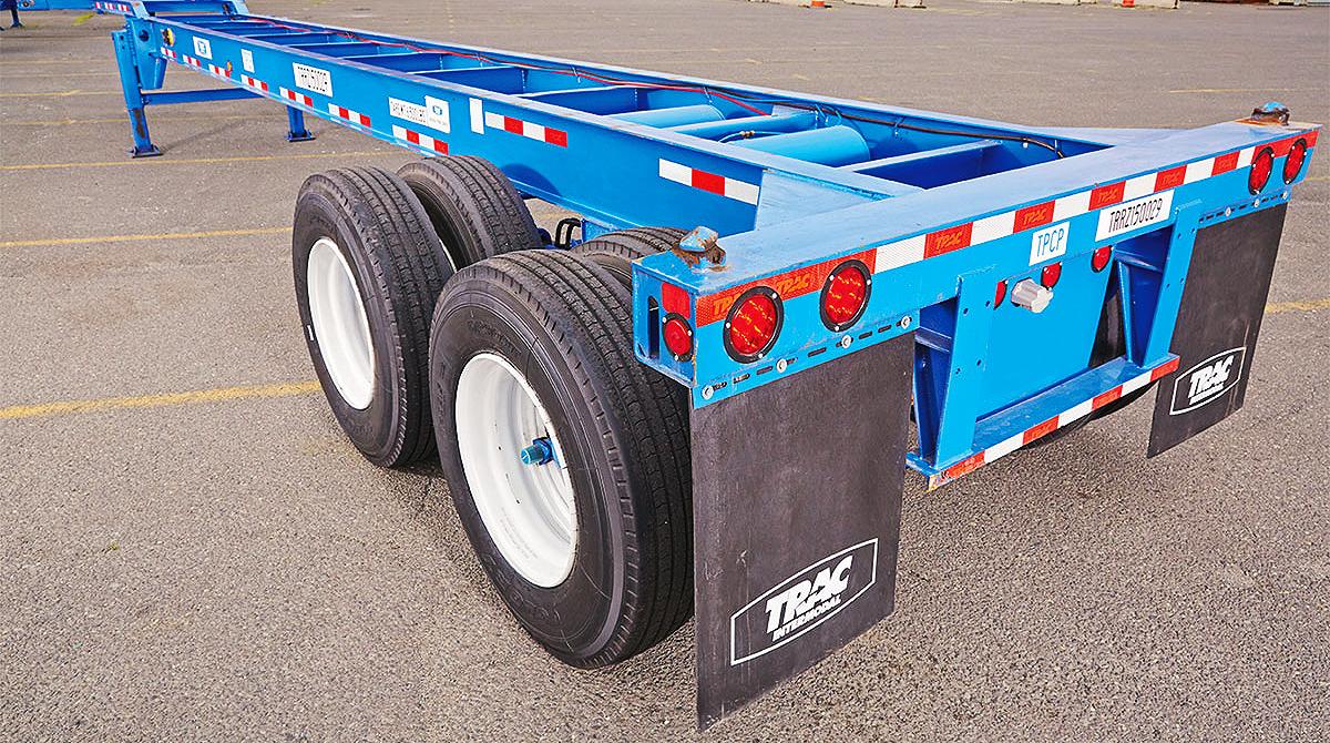 TRAC Intermodal chassis