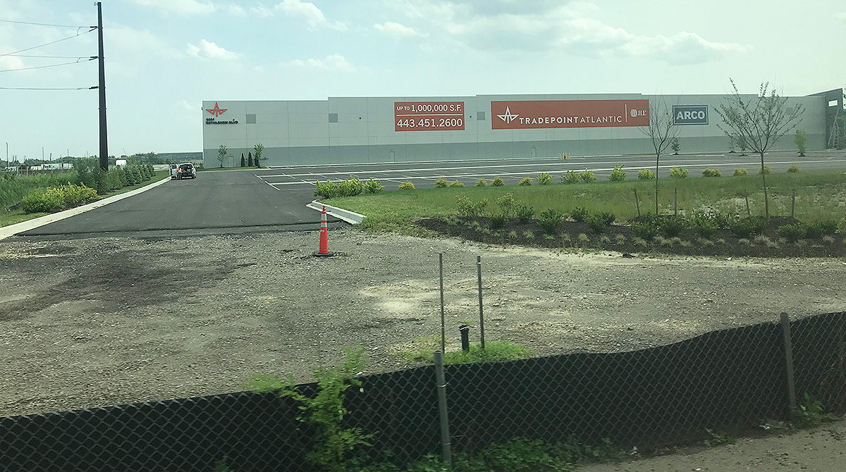 Baltimore's Tradepoint Atlantic Intermodal Facility