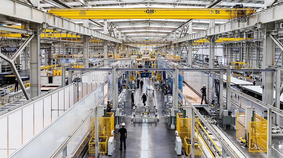 Hyundai Translead trailer factory