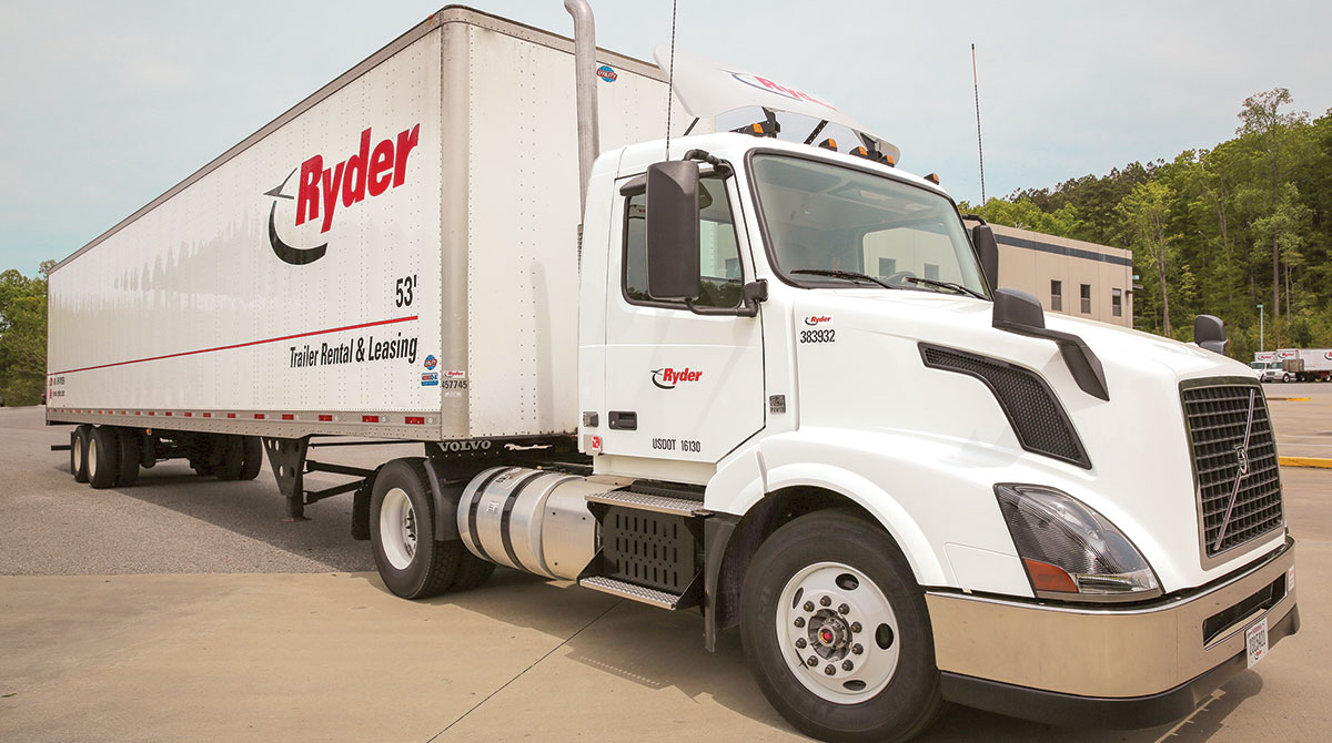 Ryder tractor-trailer