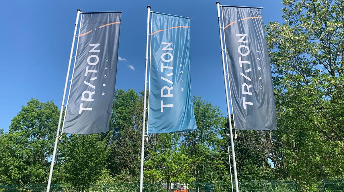 Traton flags