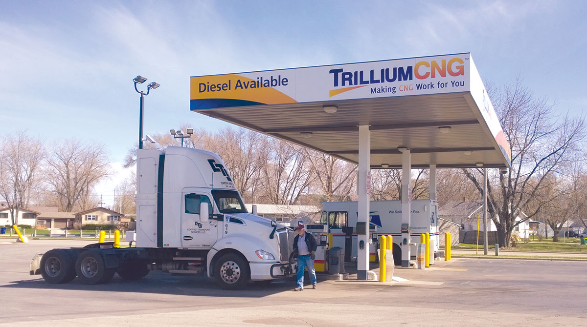 A Trillium CNG station