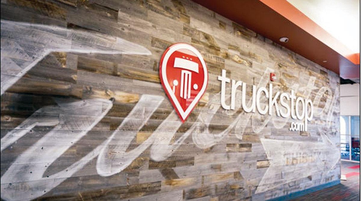 Truckstop.com wall