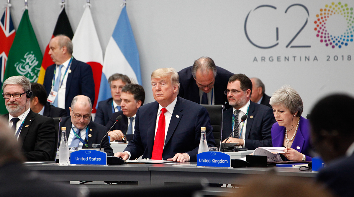 President Trump at the G20 Summit in Argentina