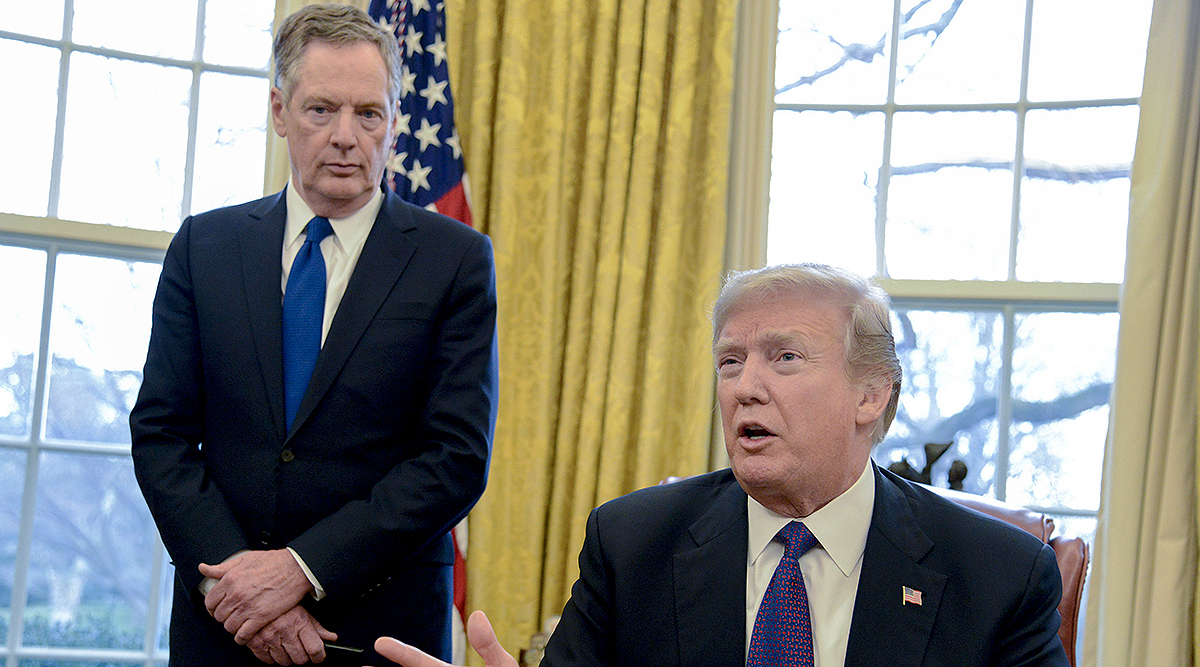 Robert Lighthizer, President Trump