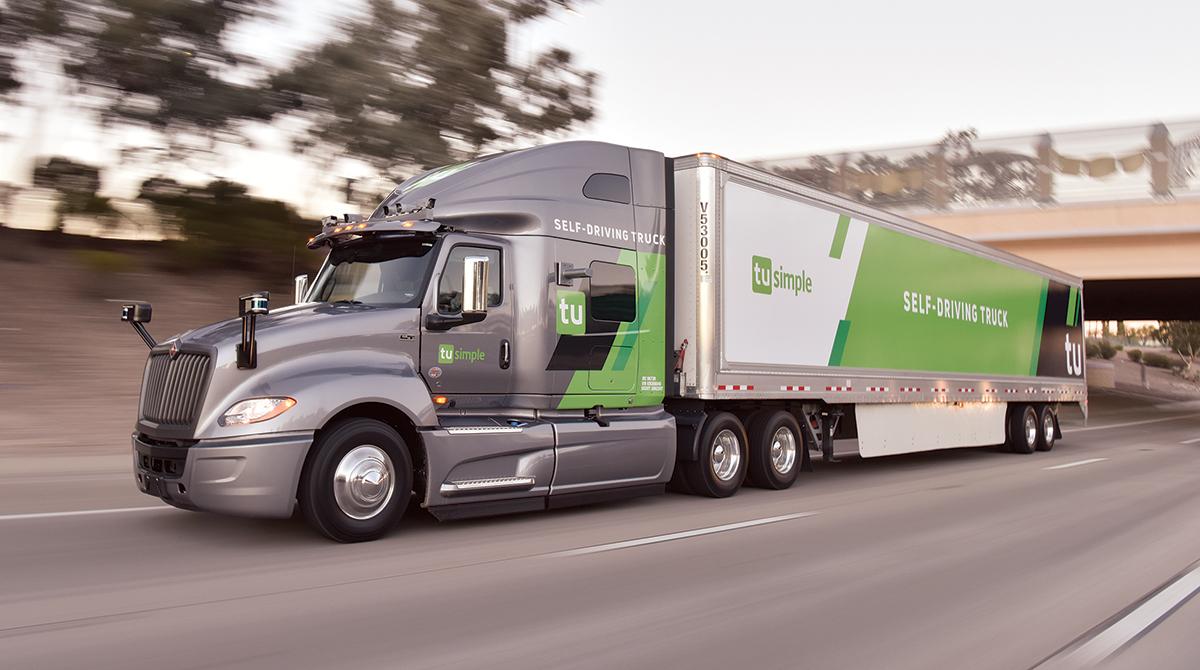 Navistar TuSimple truck