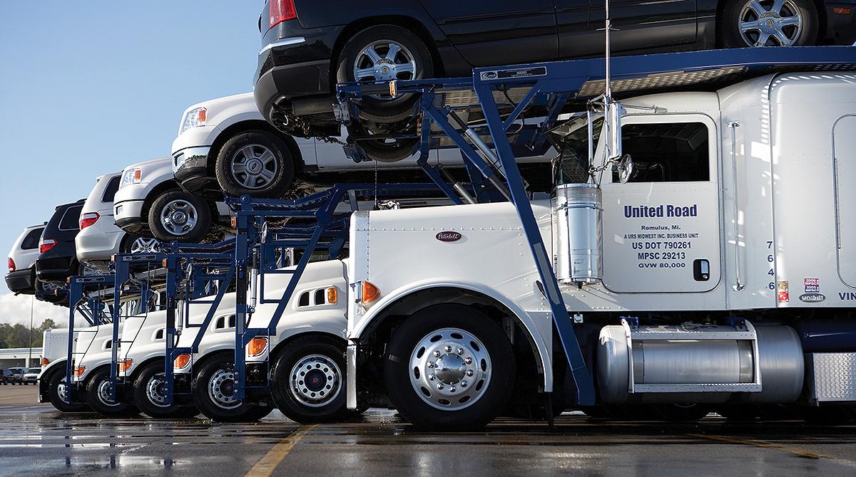United Road Services carhauler