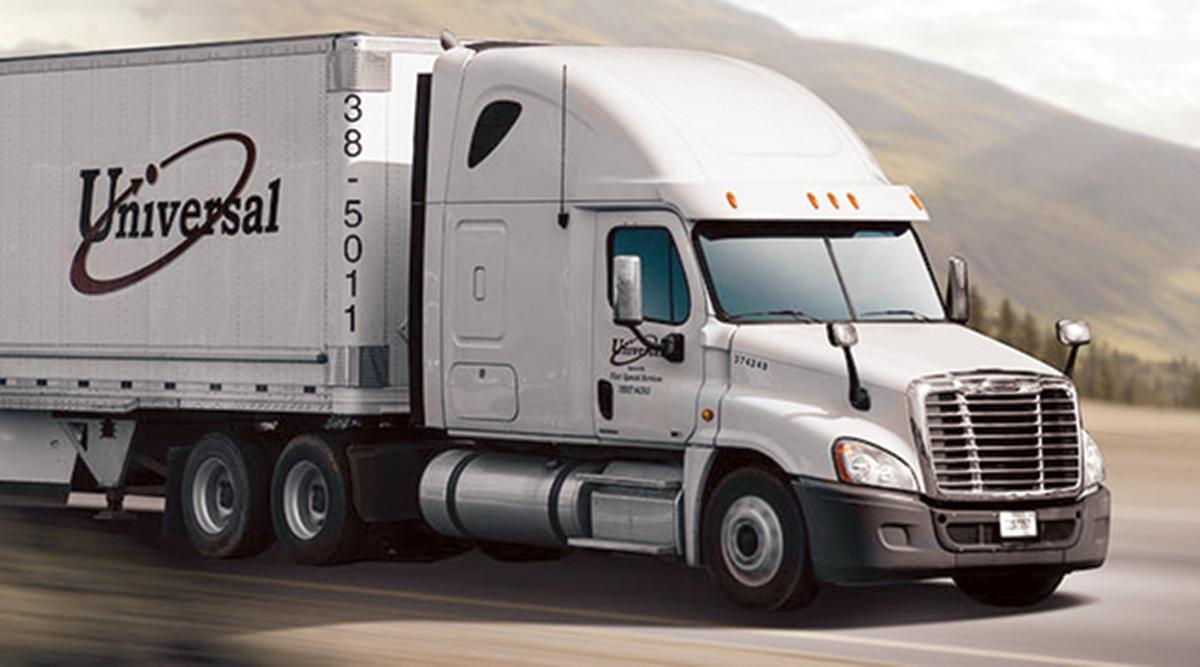 Universal Logistics Holdings truck