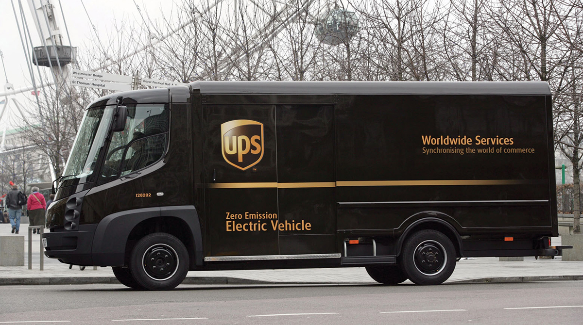 Electric Ups Truck