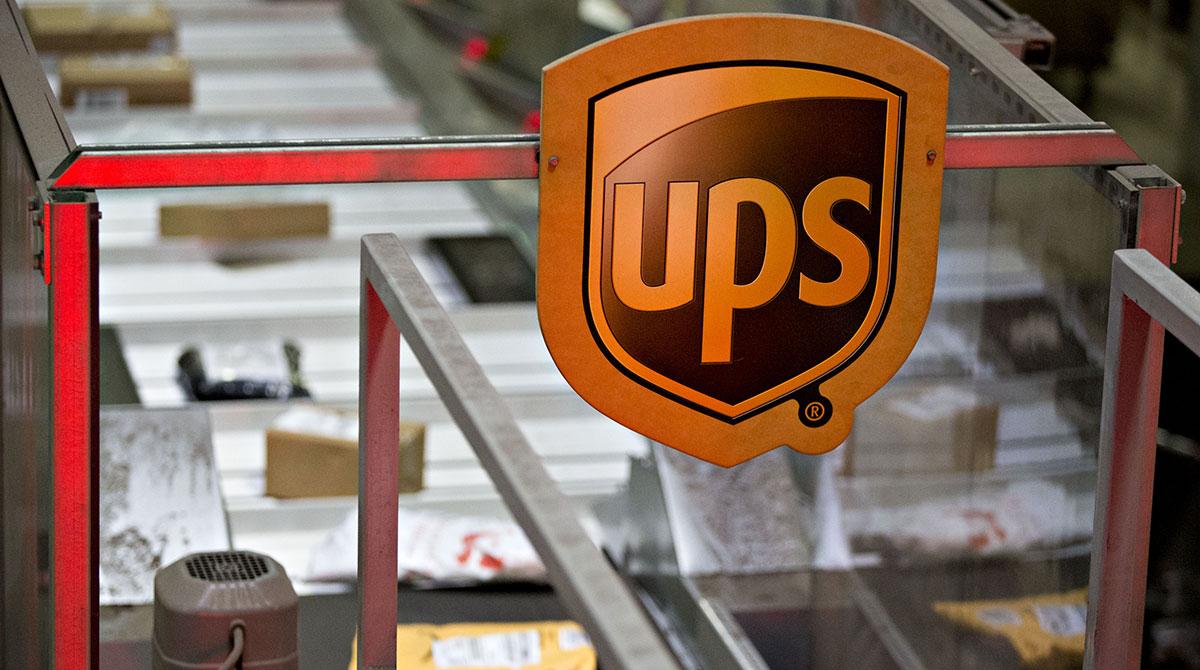 Sorting at a UPS hub