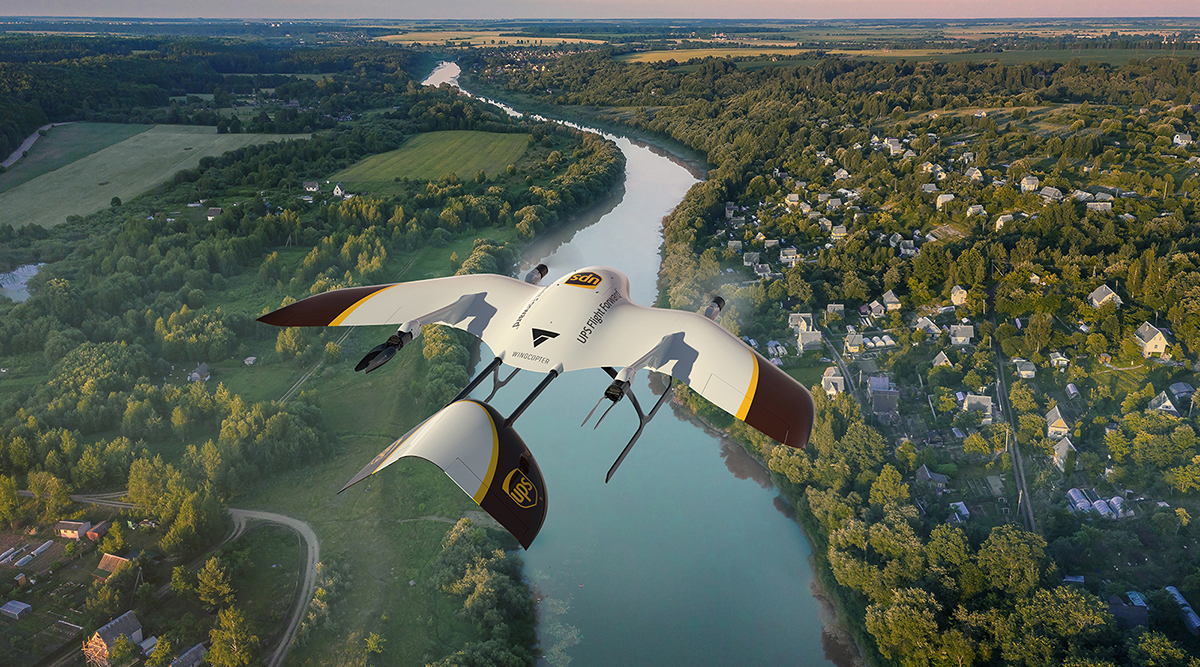 UPS Flight Forward drone