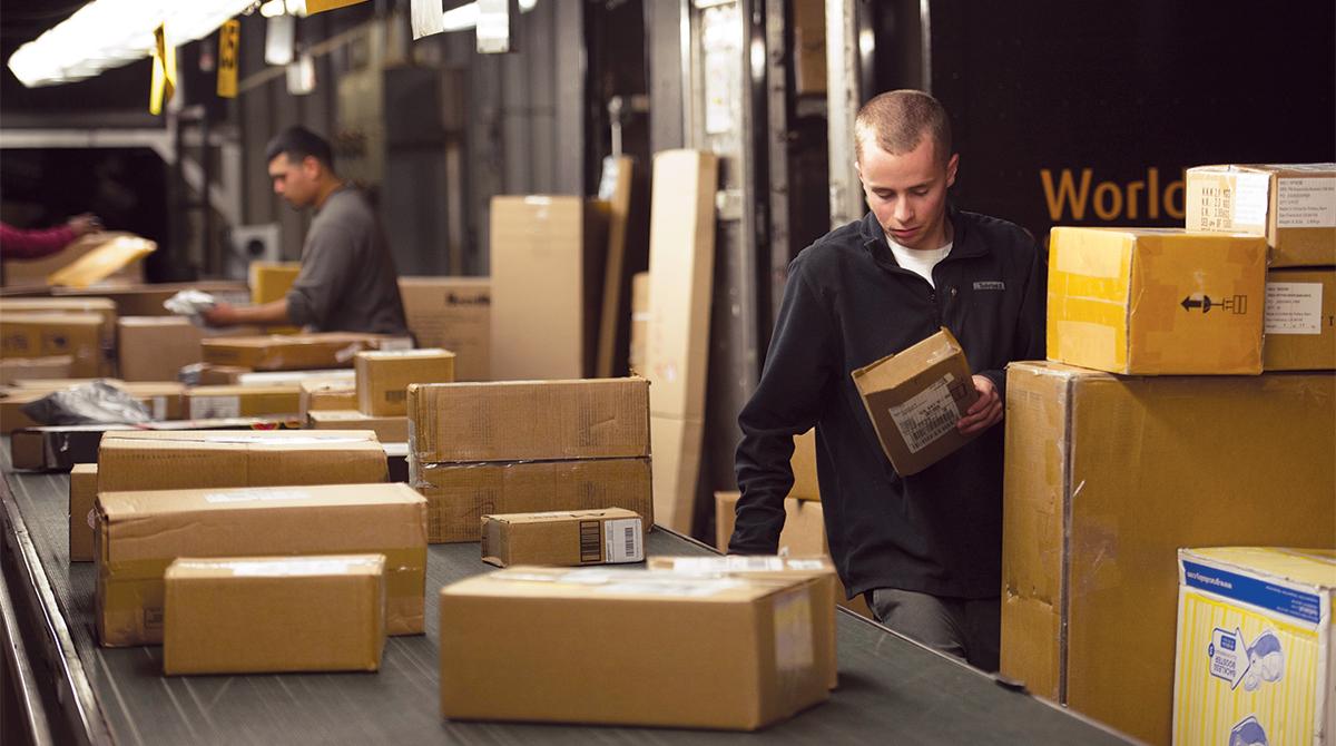 UPS parcels