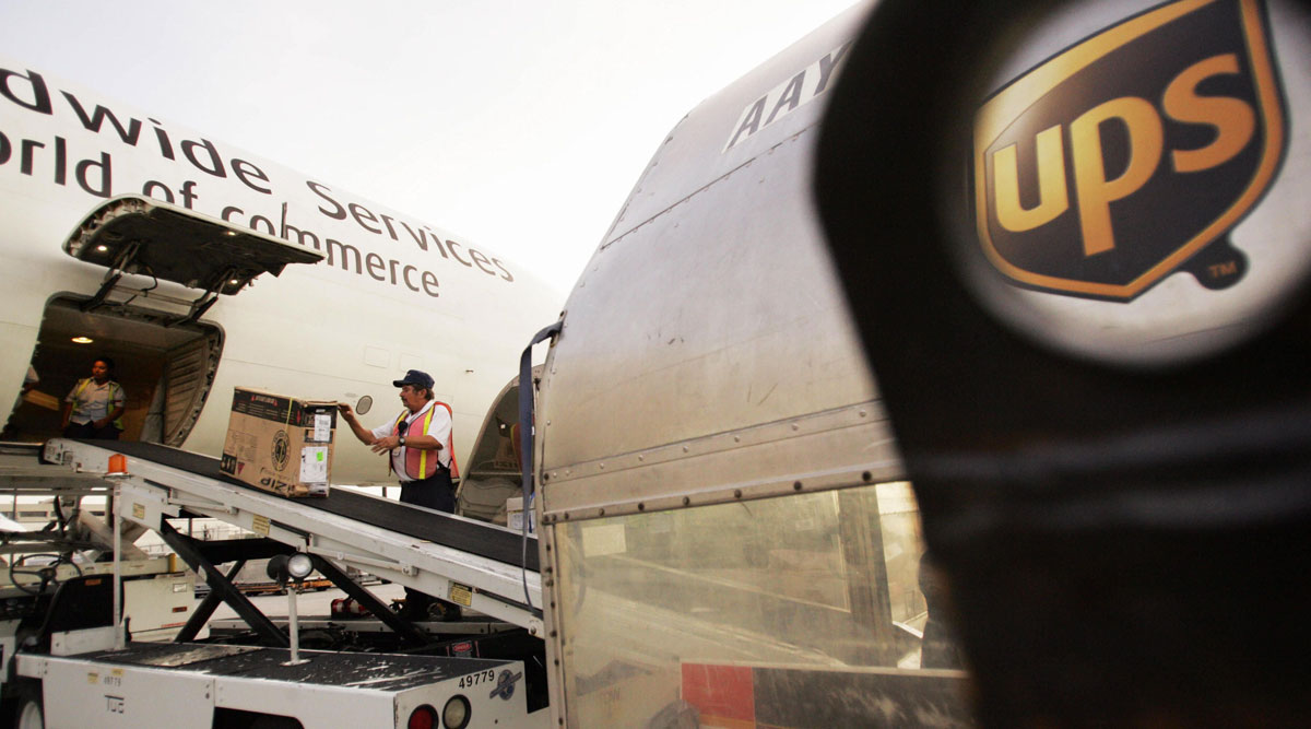 UPS will install new cockpit computers in dozens of aging freight planes. (Roberto Schmidt/AFP/Getty Images)