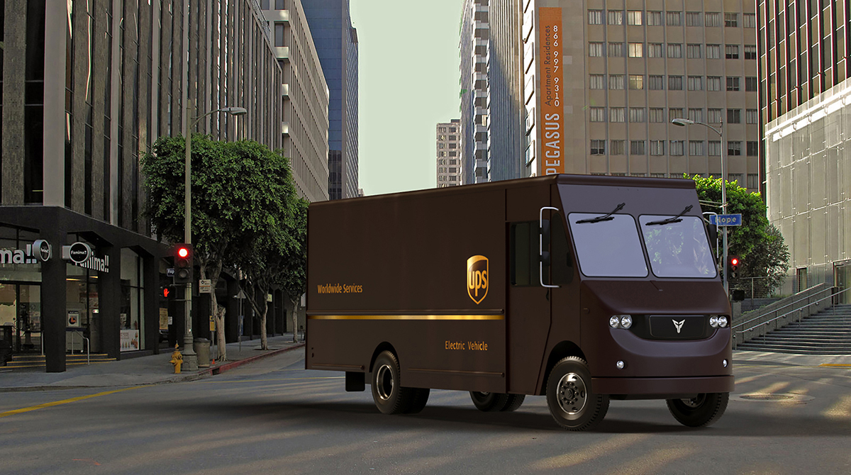 Class 6 Delivery Truck