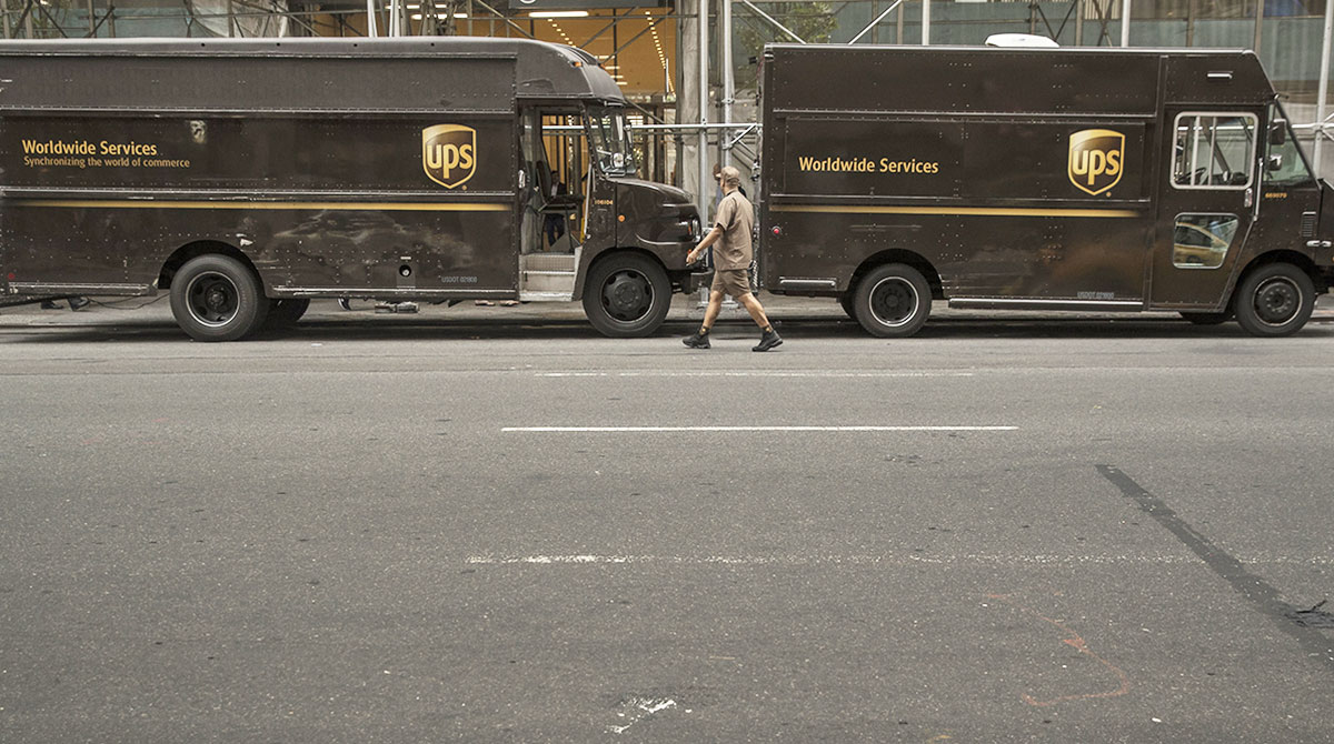 ups delivery driver salary per hour