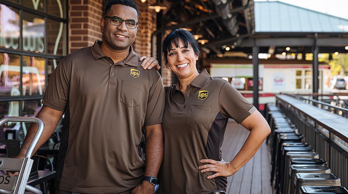 New UPS uniforms