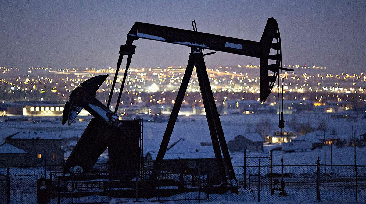 oil pump in North Dakota