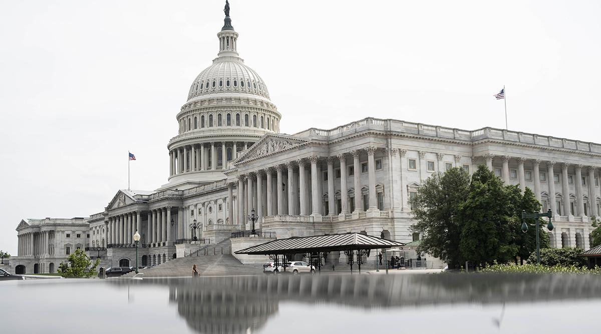 The U.S Capitol building in Washington (Sarah Silbiger/Bloomberg News)
