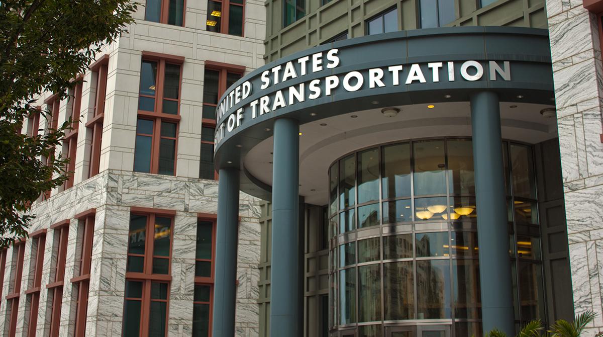U.S. Department of Transportation headquarters in Washington