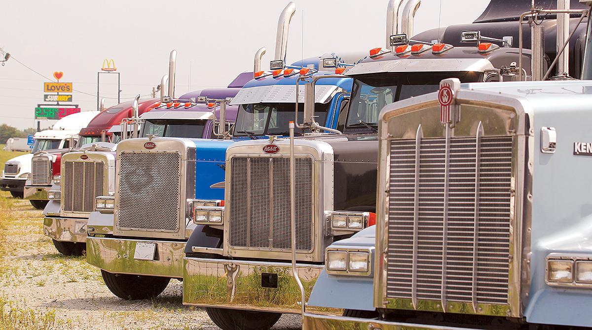 Used truck dealership