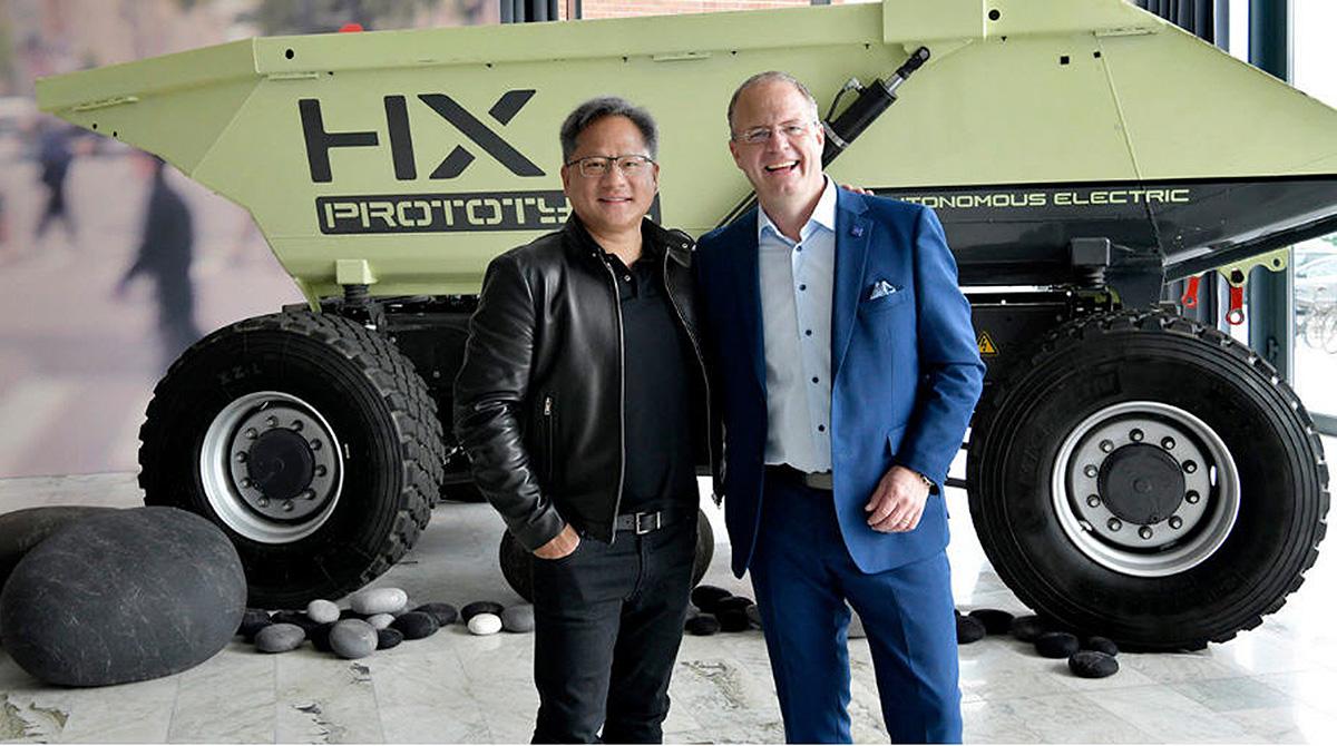 Resultado de imagen para Volvo Group Selects NVIDIA to Transform Trucking