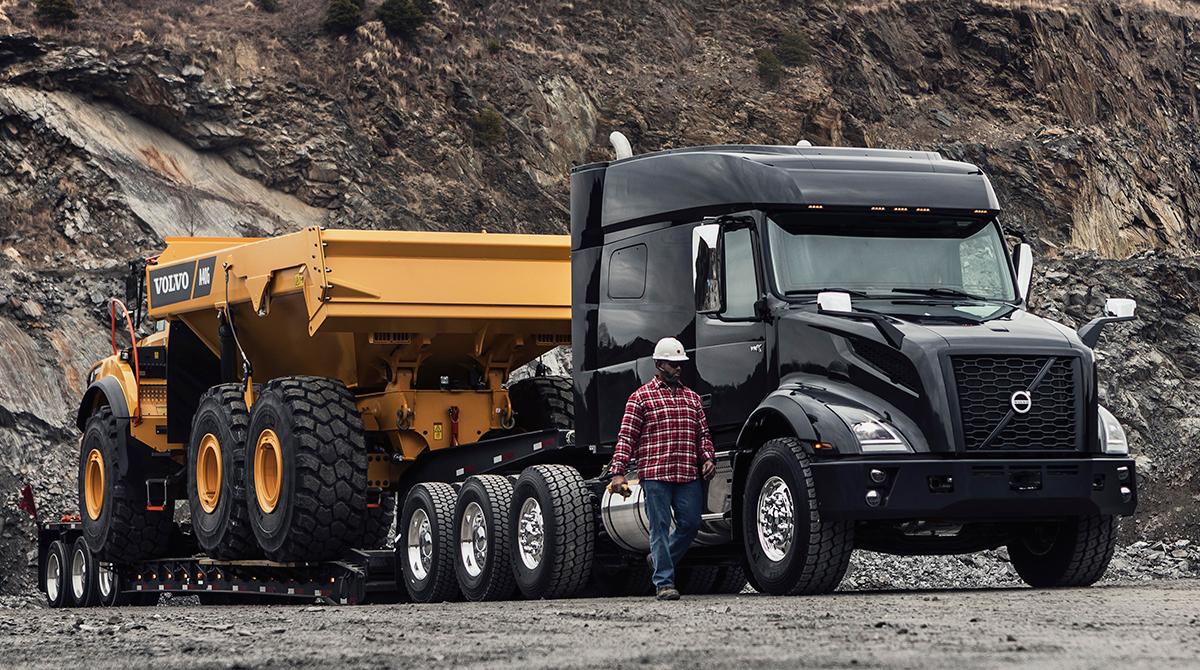 Volvo Trucks VNX model