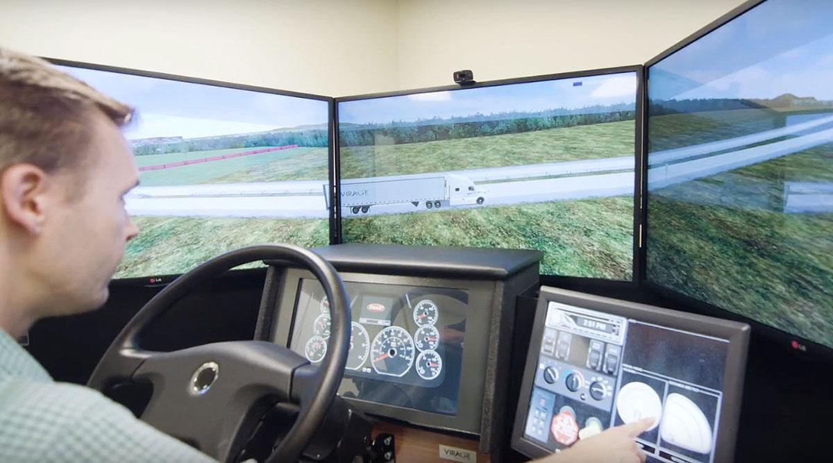 VS600M simulator