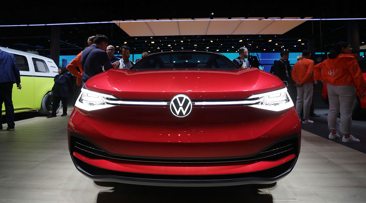 Press Conference Volkswagen at the IAA 2019