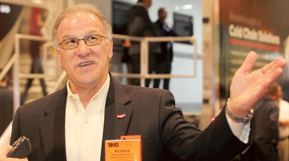 Wabash National CEO Dick Giromini