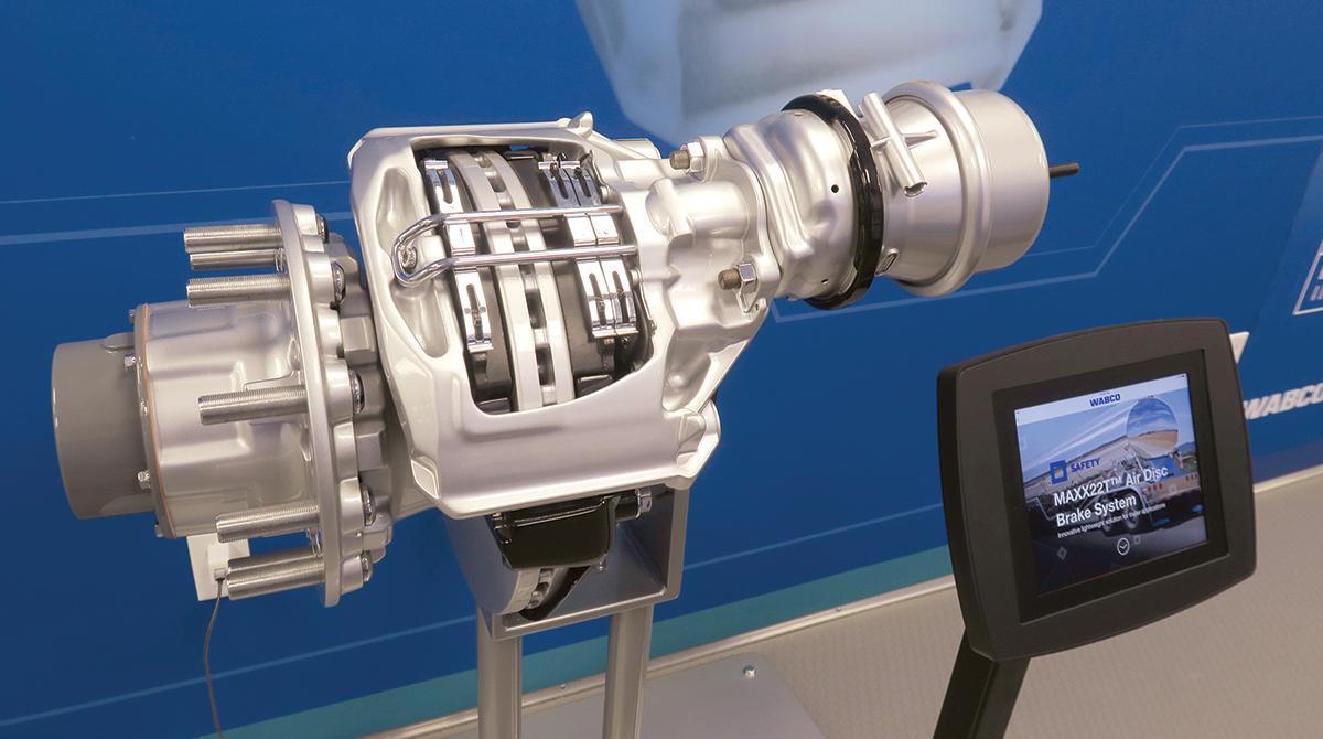 Wabco Maxx22T air disc brake