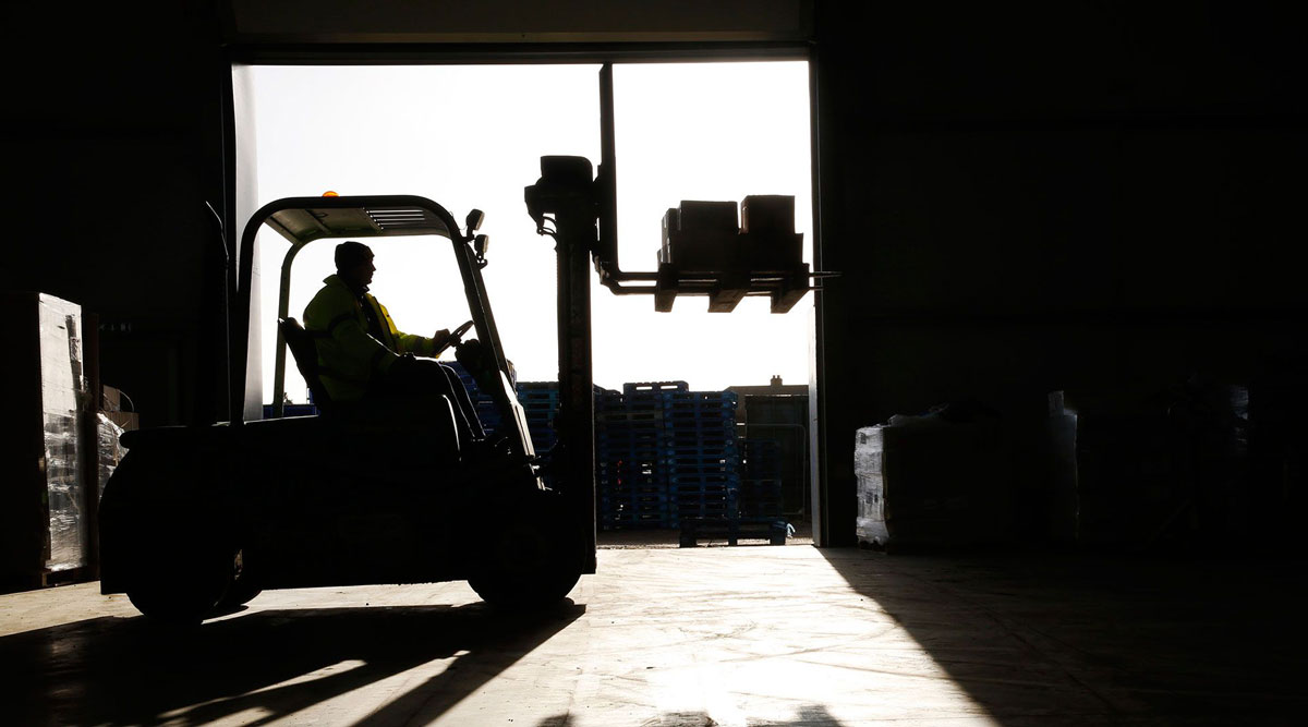 The warehousing and storage industry is one of the few sectors where employment is actually higher.
