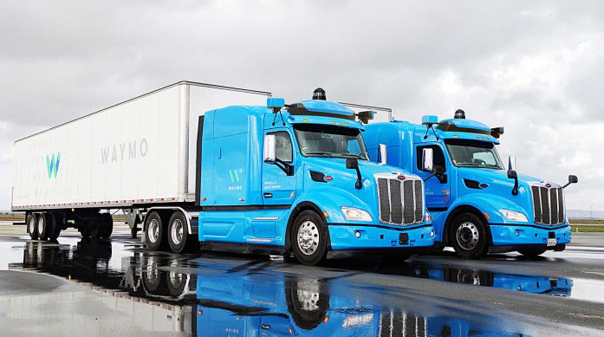 Waymo Trucks