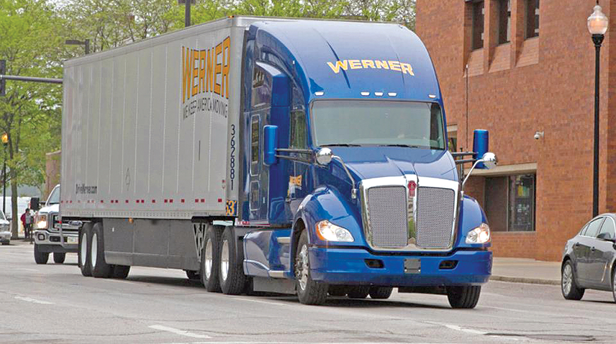 Werner Enterprises truck