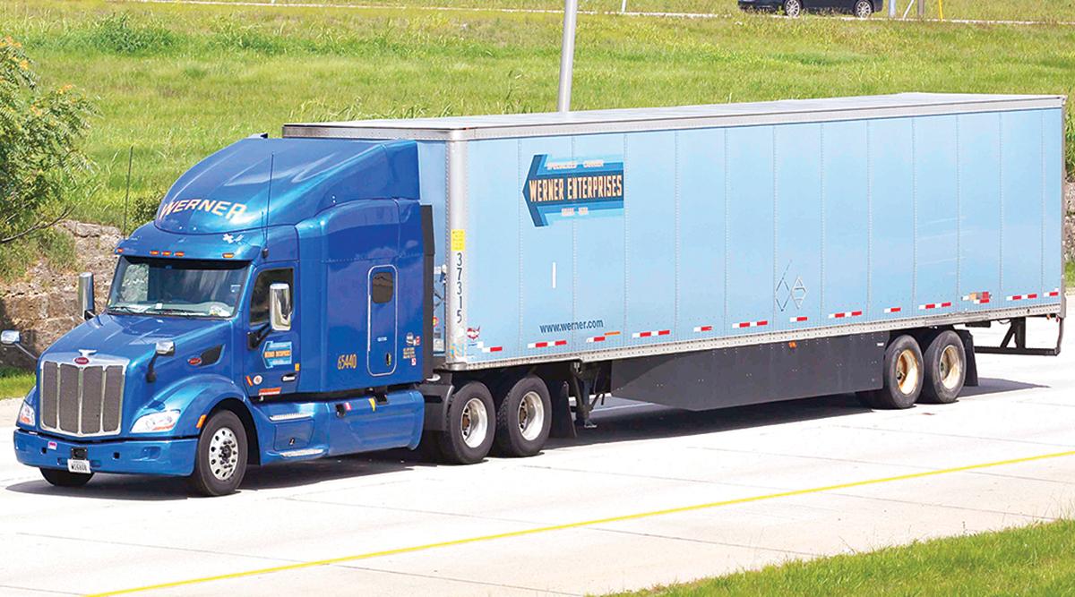 Werner Enterprises Inc. truck