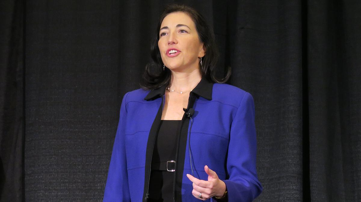 Goalkeeper Media CEO Valerie Alexander